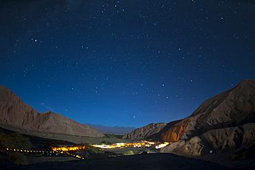 Milky Way, Hotel Alto Atacama, San Pedro de Atacama, Atacama Desert, Chile, South America