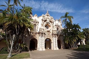 Casa del Prado, Balboa Park, San Diego, California, United States of America. North America