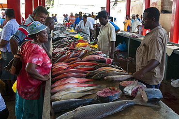 Market, Victoria, Mahe, Seychelles, Indian Ocean, Africa
