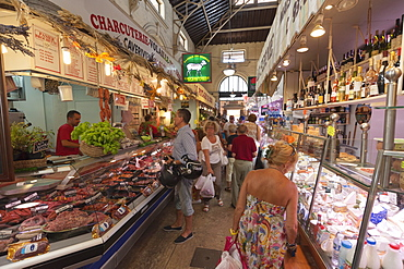Old market, Menton, Provence-Alpes-Cote d'Azur, Provence, French Riviera, France, Europe