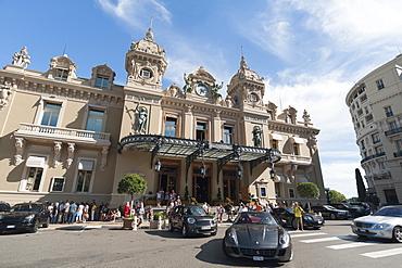 Casino, Monte Carlo, Principality of Monaco, Europe