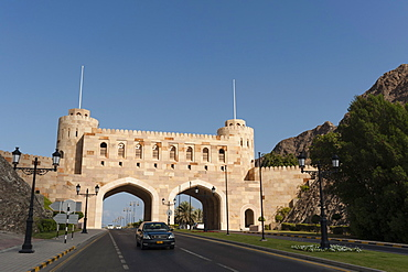 Muscat Gate, Muscat, Oman, Middle East