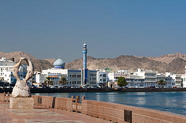Muttrah Corniche, Muscat, Oman, Middle East