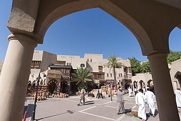 Pottery souk, Nizwa, Oman, Middle East