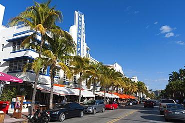 Breakwater Hotel, Ocean Drive, South Beach, Miami Beach, Florida, United States of America, North America