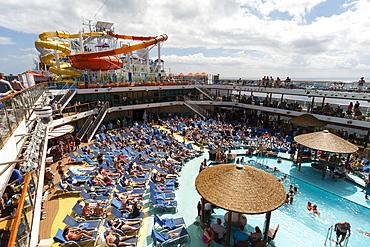 Carnival Breeze cruise, Caribbean Sea, United States of America, North America