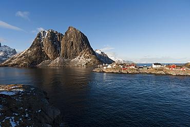 Hamnoy, Lofoten Islands, Arctic, Norway, Scandinavia, Europe
