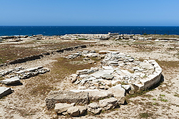 Despotiko, an uninhabited island in the southwest of Antiparos, a place of great archaeological importance, Southern Aegean sea, Cyclades, Greek Islands, Greece, Europe