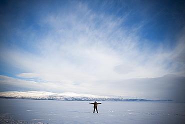 Tornetrask Lake, Abisko National Park, Sweden, Scandinavia, Europe