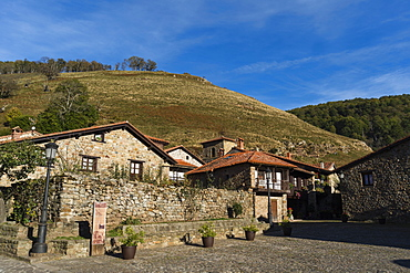Barcena Mayor village, Cantabria, Spain, Europe