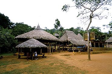 Embera village, Soberania Forest National Park, Panama, Central America