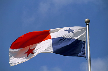 Panamanian flag, Panama, Central America