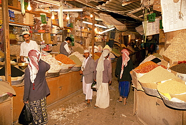 Bazaar, Old Town, Sana'a, Republic of Yemen, Middle East