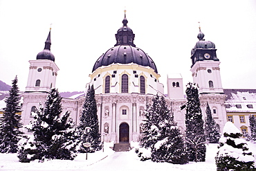 Monastery and Benedictine abbey, Ettal, Bavaria, Germany, Europe