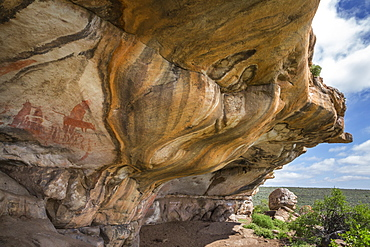 San rock art, Cederberg mountains, Western Cape, South Africa, Africa