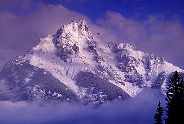 Snowy Mountain, Alaska, United States of America, North America