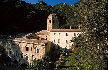 Abbey, San Fruttuoso, Liguria, Italy