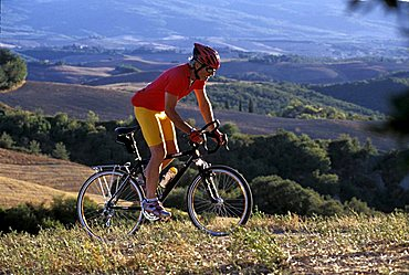 Cyclist, Biking around Italy