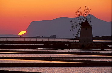 Saltworks, Marsala, Sicily, Italy