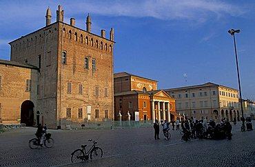 Martiri square, Carpi, Emilia Romagna, Italy.