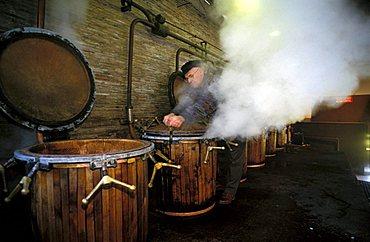 Distillation, Benito Nonino cellar, Percoto, Friuli Venezia Giulia, Italy.