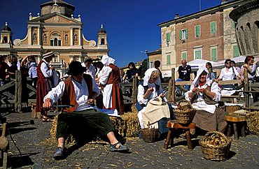 Costume historical commemoration, Carpi, Emilia Romagna, Italy