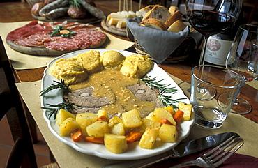 Specialities of Casa del Vino winery, Marano d'Isera, Trentino, Italy