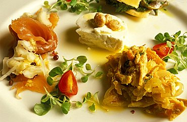 Appetizer, Turin, Piedmont, Italy