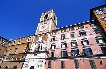 Civic Tower, Piazza del Papa, Ancona, Marche, Italy.