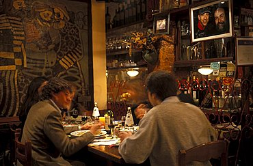 Osteria Teatro Strabacco restaurant, Ancona, Marche, Italy.