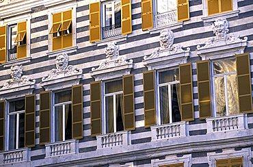 Palace, San Lorenzo street, Genoa, Ligury, Italy