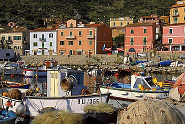 Giglio Harbour, Isola Del Giglio, Toscana, Tuscany, Italy