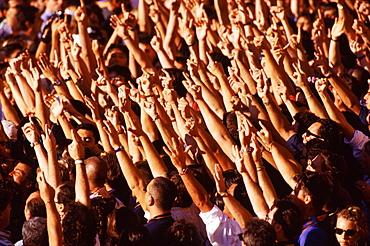 Supporters, Siena, Tuscany, Italy