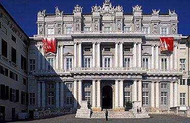 Palazzo Ducale in Piazza Matteotti, Genoa, Liguria, Italy