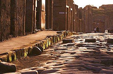 Via della Fortuna, Pompei, Campania, Italy