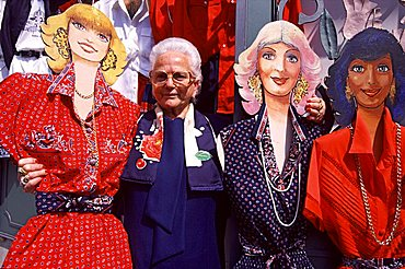 Maria Lampo is the first designer of Positano, Amalfi coast, Campania, Italy