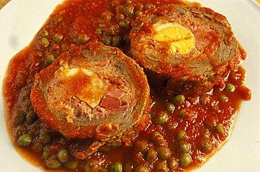 Falsomagro, Ai Cascinari restaurant, Palermo, Sicily, Italy