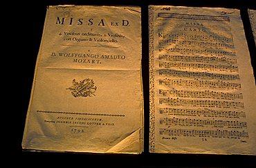 House-museum of Mozart, Salzburg, Austria, Europe