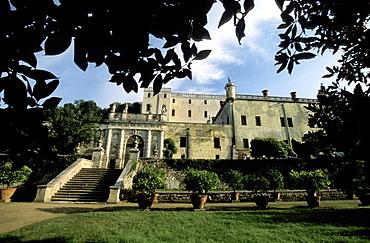 View of Cataio Castle, Battaglia Terme, Veneto, Italy