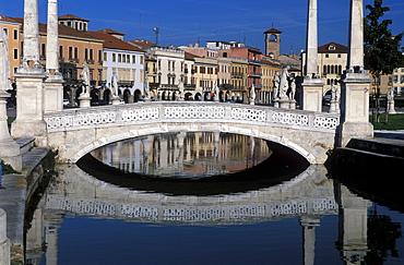 Prato della Valle, Padua, Veneto, Italy