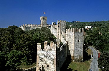 Historic city walls,  Este, Veneto, Italy