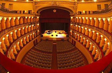 Verdi Theater, Padua, Veneto, Italy