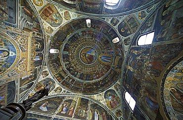 Dome of the baptistery, Padua, Veneto, Italy