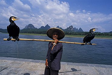 Li river, Guilin, China, Asia
