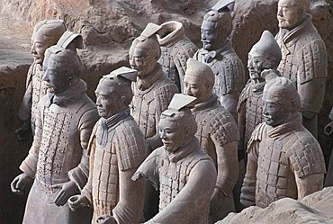 Terracotta Warriors Tomb, Xian, China, Asia