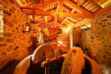 Ancient mill near Roveda, Valle dei Mocheni, Trentino Alto Adige, Italy