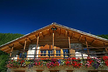 Maso typical house, Trentino Alto Adige, Italy