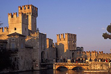 Scaligero castle, Sirmione, Lombardy, Italy