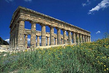 Temple, Segesta, Sicily, Italy