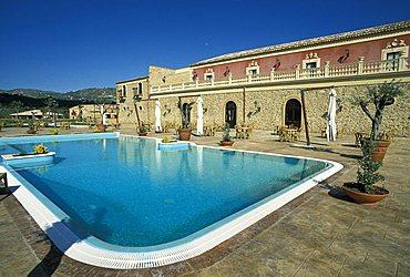 Villa Gussio Nicoletti Hotel, Leonforte, Sicily, Italy